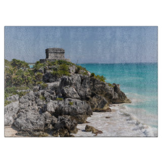 Mayan Ruins in Tulum Mexico Cutting Board