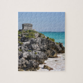 Mayan Ruins in Tulum Mexico Jigsaw Puzzle