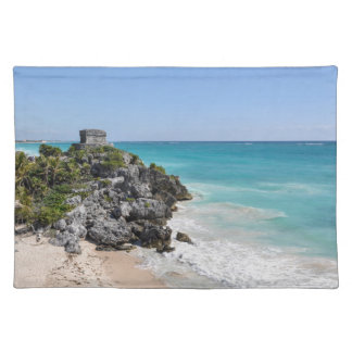 Mayan Ruins in Tulum Mexico Placemat
