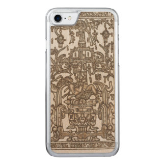 Mayan Ruler Pakal Kim Carved iPhone 8/7 Case