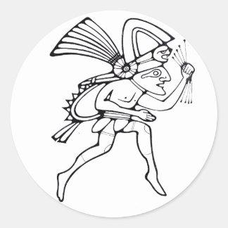Mayan runner - Amazing Mexico sticker