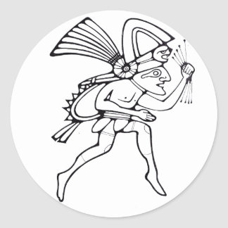 Mayan runner - Dancer sticker