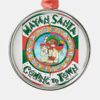 Mayan Santa ornament