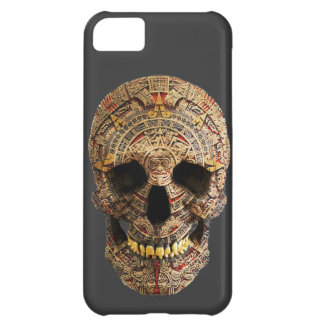 Mayan Skull Cover For iPhone 5C