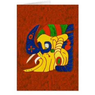 MAYAN SPIRIT E ALOM CARD