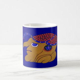 MAYAN SPIRIT HURACAN- MIDNIGHT BLUE-CANCUN COFFEE MUG
