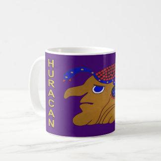 MAYAN SPIRIT HURACAN- MIDNIGHT PURPLE-CANCUN COFFEE MUG