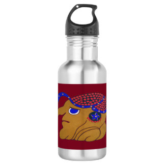 MAYAN SPIRIT HURACAN- MIDNIGHT RED- CANCUN 532 ML WATER BOTTLE