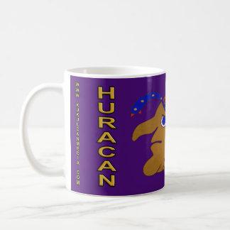 MAYAN SPIRIT HURACAN- PURPLE BACKGROUND- CANCUN COFFEE MUG