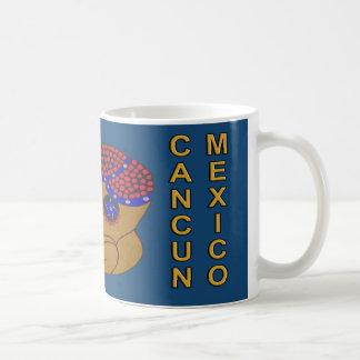 MAYAN SPIRIT HURACAN- TURQUOISE BLUE- CANCUN COFFEE MUG