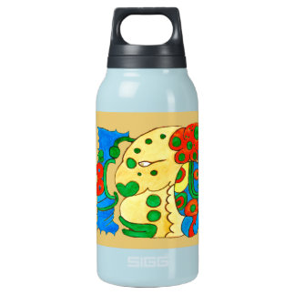 MAYAN SPIRIT IQUI BALAM- GOLD- MAYAN GOLD COAST INSULATED WATER BOTTLE