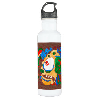 MAYAN SPIRIT KAI YUM- RED- CANCUN MEXICO 710 ML WATER BOTTLE
