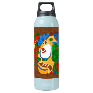 MAYAN SPIRIT KAI YUM- RED- MAYAN GOLD COAST INSULATED WATER BOTTLE