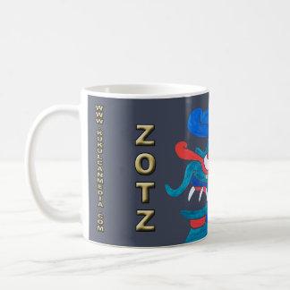 MAYAN SPIRIT ZOTZ, GREY, MAYAN GOLD COAST COFFEE MUG