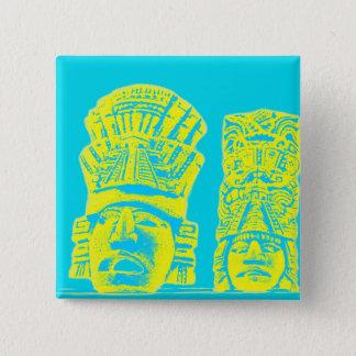 mayan statue button