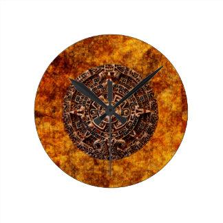 Mayan Sun Calendar Aztec Mexican History Clock