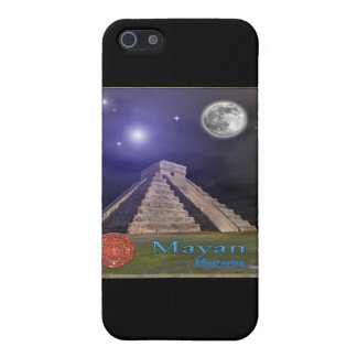 Mayan temple I-pod iPhone 5 Cases