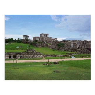 mayanruins postcard