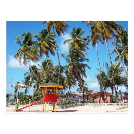 Mayaro Beach Lifeguard Tower, Trinidad Postcard