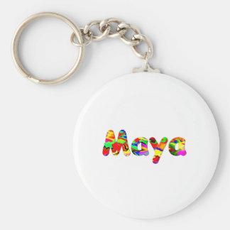 Maya's key chain