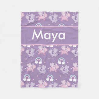 Maya's Personalized Blanket