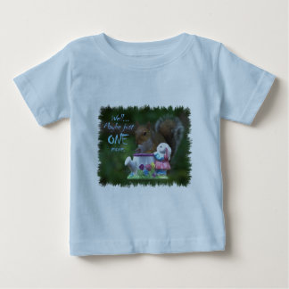 """""""Maybe just ONE more"""" Baby T-Shirt"""