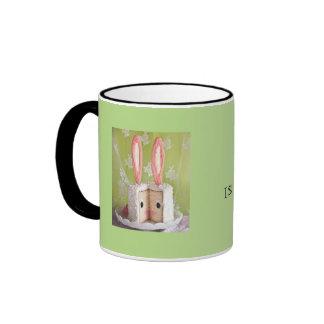 Maybe Sammy is a Bunny Ringer Coffee Mug