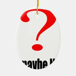 maybe suggestion afraid possibility black note mar ceramic oval ornament