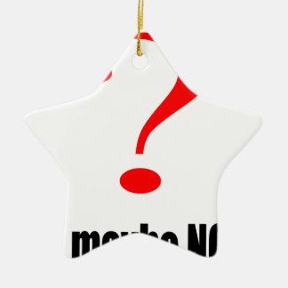 maybe suggestion afraid possibility black note mar ceramic star ornament