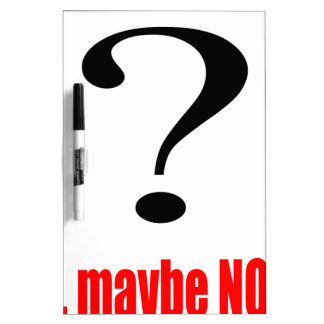 maybe suggestion afraid possibility red note marry dry erase white board