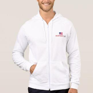 MAYDAY American Apparel Fleece Zip Hoodie, Hoodie