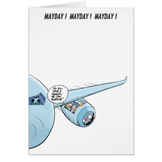 Mayday! Mayday! Mayday! Ducks in the Engine Card