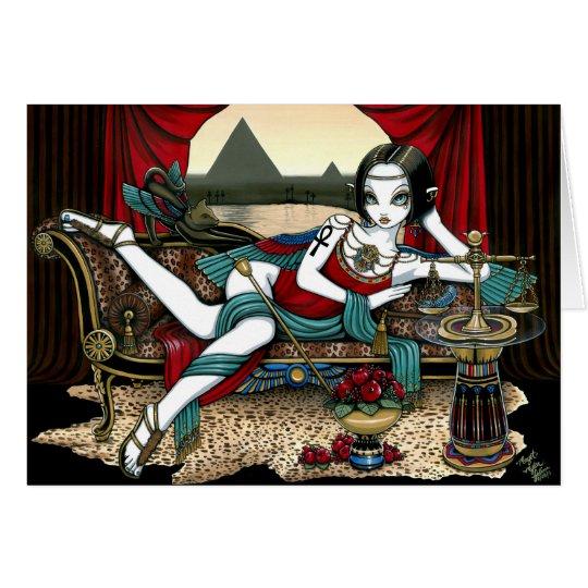 """Mayet"" Egyptian Goddess Maat Angel Card"