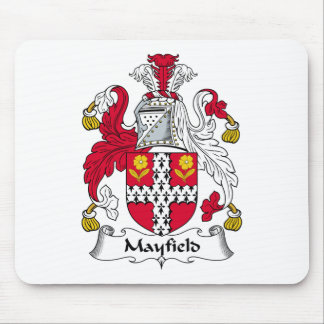Mayfield Family Crest Mouse Pad
