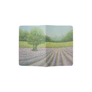 Mayfield Lavender in Bloom Pastel Passport Holder