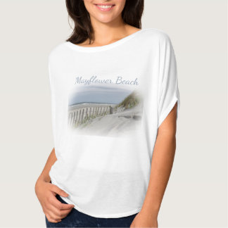 Mayflower Beach on Cape Cod T-Shirt