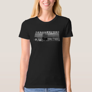 Mayflower Descendant T-Shirt