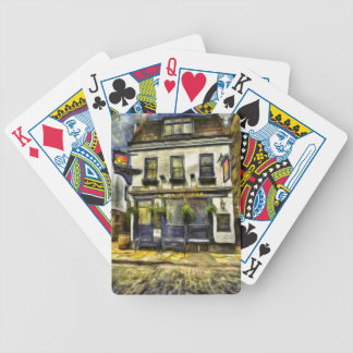 Mayflower Pub London Van Gogh Bicycle Playing Cards