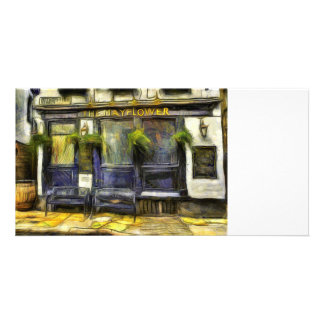 Mayflower Pub London Van Gogh Card
