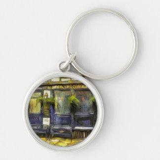 Mayflower Pub London Van Gogh Keychain