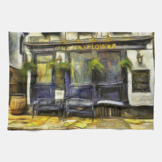 Mayflower Pub London Van Gogh Kitchen Towel