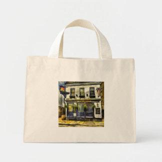 Mayflower Pub London Van Gogh Mini Tote Bag
