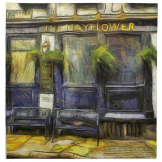 Mayflower Pub London Van Gogh Napkin