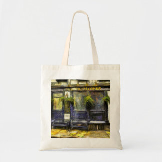 Mayflower Pub London Van Gogh Tote Bag
