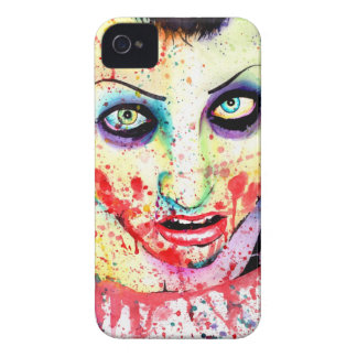 Mayhem Pop Art Zombie Girl Painting iPhone 4 Cover