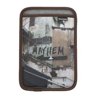 Mayhem Street Art Graffiti Ipad Case