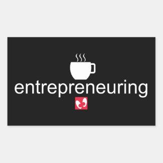 Mayniax Branding Entrepreneuring Black Sticker