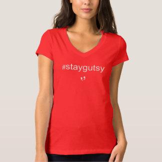 Mayniax Branding Red #staygutsy Women's T-Shirt