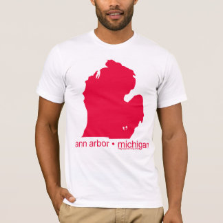Mayniax Branding White Ann Arbor T-shirt! T-Shirt