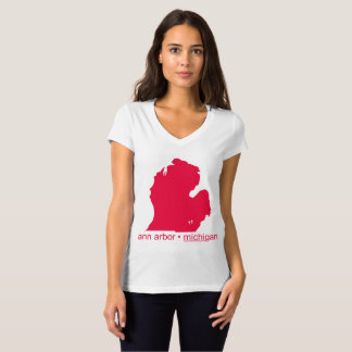 Mayniax Branding White Ann Arbor T-shirt Women's